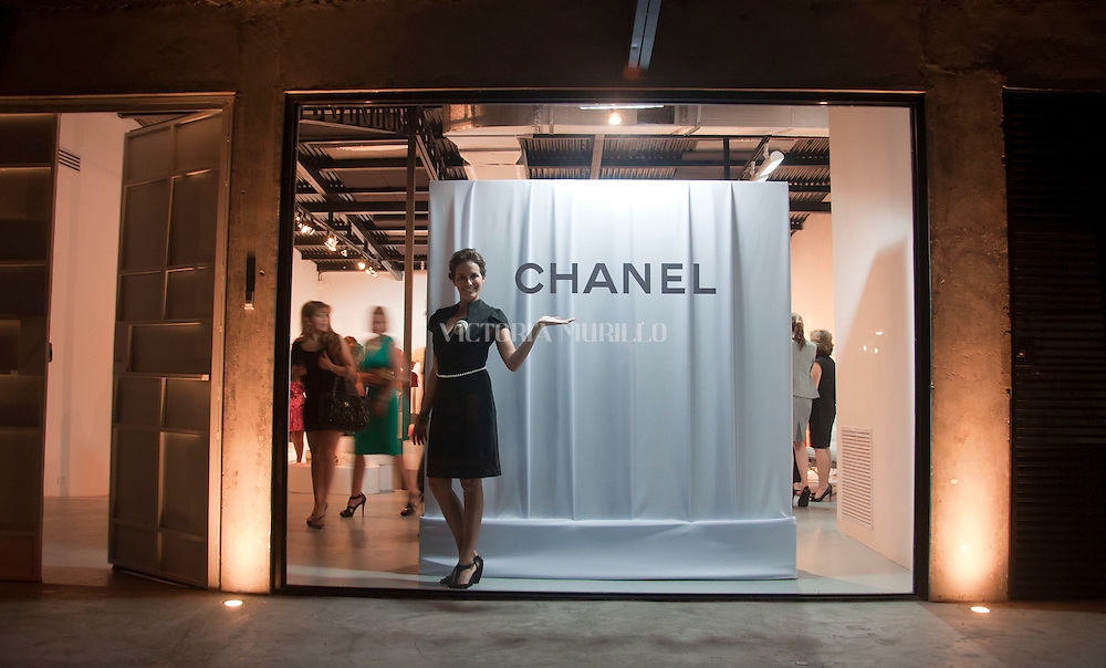 Evento Chanel, Galeria Mateo Sariel, Panama City.©Victoria Murillo/Istmophoto.com