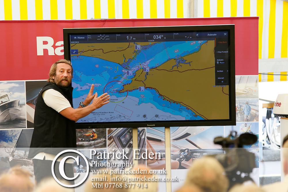 Round the Island Race, Raymarine, Weather Briefing, with, Chris Tibbs.