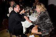 ALEXANDER VON SCHOENBURG; ELIETTE VON KARAJAN, Otello at the Grosses Festspielhaus and afterwards  Gala dinner at the Donald Kahn lounge.  Salzburg.  Amadeus Weekend. Salzburg. 24 August 2008.  *** Local Caption *** -DO NOT ARCHIVE-© Copyright Photograph by Dafydd Jones. 248 Clapham Rd. London SW9 0PZ. Tel 0207 820 0771. www.dafjones.com.