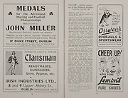 All Ireland Senior Football Final, Cork v Cavan, 23.09.1945, 09.23.1945, 23rd September 1945, Cork 2-05 Cavan 0-07,.23091945AISFCF,.