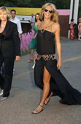 ELLE MACPHERSON at the Serpentine Gallery Summer party sponsored by Yves Saint Laurent held at the Serpentine Gallery, Kensington Gardens, London W2 on 11th July 2006.<br />