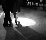 Often improvised, intricate footwork is an important aspect of the Argentine Tango.