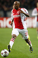 Onderwerp/Subject: Ajax - Champions League<br /> Reklame:  <br /> Club/Team/Country: <br /> Seizoen/Season: 2013/2014<br /> FOTO/PHOTO: Thulani SERERO ( Thulani Caleeb SERERO ) of Ajax. (Photo by PICS UNITED)<br /> <br /> Trefwoorden/Keywords: <br /> #00 $94 &plusmn;1377840750319<br /> Photo- &amp; Copyrights &copy; PICS UNITED <br /> P.O. Box 7164 - 5605 BE  EINDHOVEN (THE NETHERLANDS) <br /> Phone +31 (0)40 296 28 00 <br /> Fax +31 (0) 40 248 47 43 <br /> http://www.pics-united.com <br /> e-mail : sales@pics-united.com (If you would like to raise any issues regarding any aspects of products / service of PICS UNITED) or <br /> e-mail : sales@pics-united.com   <br /> <br /> ATTENTIE: <br /> Publicatie ook bij aanbieding door derden is slechts toegestaan na verkregen toestemming van Pics United. <br /> VOLLEDIGE NAAMSVERMELDING IS VERPLICHT! (&copy; PICS UNITED/Naam Fotograaf, zie veld 4 van de bestandsinfo 'credits') <br /> ATTENTION:  <br /> &copy; Pics United. Reproduction/publication of this photo by any parties is only permitted after authorisation is sought and obtained from  PICS UNITED- THE NETHERLANDS