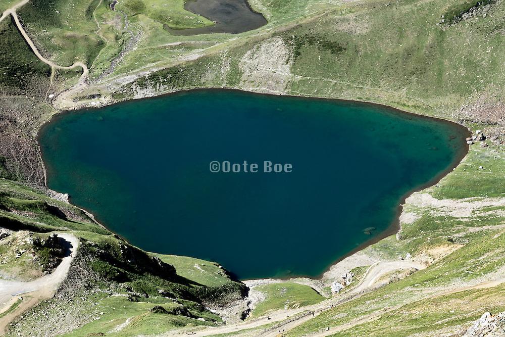 Lake Of Oncet, Pic Du Midi De Bigorre, Pyrenees France