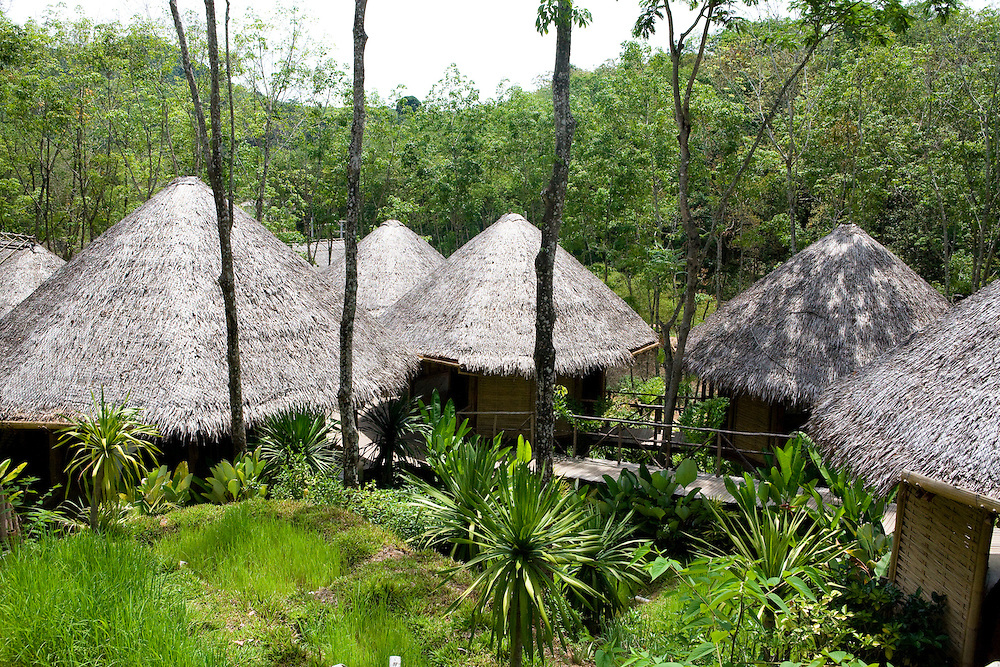 The spa at Evason Hideaway & Six Senses Spa at koh Yao Noi island, Thailand