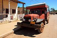 Truck in Batabano, Mayabeque, Cuba.