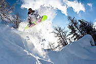 The Magic Forest, Chamonix. Rider: James Howell