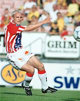 Tryggvi Gudmundsson, Tromsø. Lillestrøm - Tromsø 6-0. Tippeligaen 2000. 13. august 2000. (Foto: Peter Tubaas/Fortuna Media)