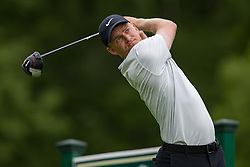 May 30, 2019 - Dublin, OH, U.S. - DUBLIN, OH - MAY 30: Adam Long plays his shot from the 18th tee during the Memorial Tournament presented by Nationwide at Muirfield Village Golf Club on May 30, 2018 in Dublin, Ohio. (Photo by Adam Lacy/Icon Sportswire) (Credit Image: © Adam Lacy/Icon SMI via ZUMA Press)