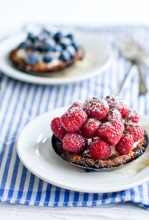 Miniature Berry Tarts