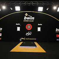 PDC GRAND SLAM 2017, DARTS, PDC, PDC DARTS, PIC : CHRIS SARGEANT, STAGE , TIP TOP PICS, GRAND SLAM OF DARTS 2017