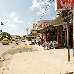 Scene in the city of Sorong.