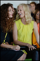 Joely Richardson ® and Daisy Richardson  attends the Roksanda Ilincic Show at at London Fashion Week Spring/Summer 2014, London, United Kingdom. Monday, 16th September 2013. Picture by Andrew Parsons / i-Images
