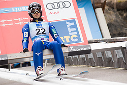 February 8, 2019 - Ljubno, Savinjska, Slovenia - Nozomi Maruyama of Japan on first competition day of the FIS Ski Jumping World Cup Ladies Ljubno on February 8, 2019 in Ljubno, Slovenia. (Credit Image: © Rok Rakun/Pacific Press via ZUMA Wire)