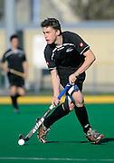 Jacob Smith in action for New Zealand, Junior Black Sticks Men vs Malaysia Juniors international Under 21 Hockey, 7 June 2011, Alexander McMillan Hockey Centre Dunedin, New Zealand. Photo: Richard Hood/photosport.co.nz