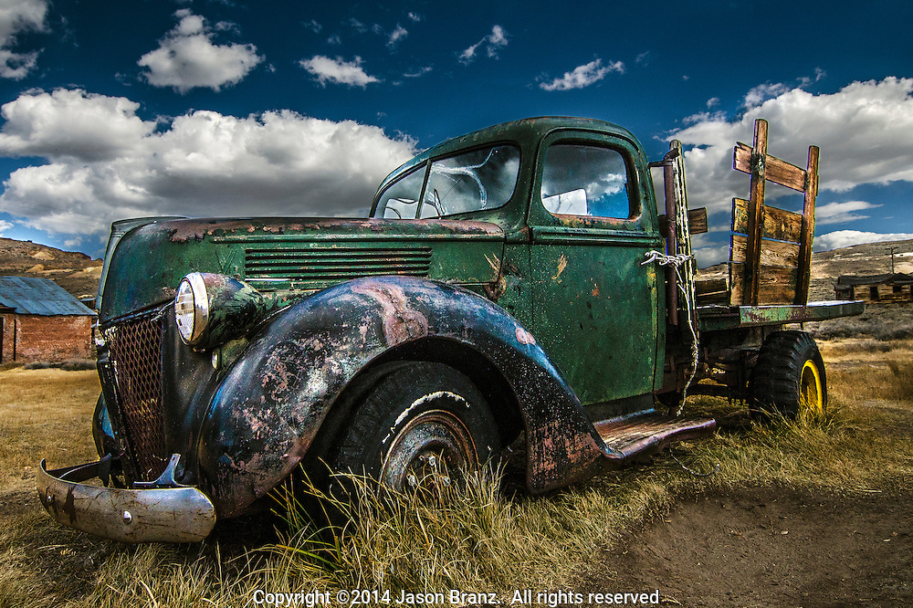 Old truck at Bodie State Historical Park, California