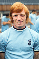 Willie Carr - Coventry Coventry City Photocall 01/08/1970 Credit : Colorsport