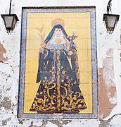 Image of a virgin in Sevilla (Spain)
