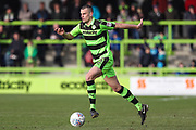 Forest Green Rovers Haydn Hollis(32) runs forward during the EFL Sky Bet League 2 match between Forest Green Rovers and Notts County at the New Lawn, Forest Green, United Kingdom on 10 March 2018. Picture by Shane Healey.