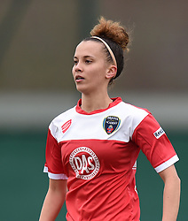Bristol Academy's Gabbie Simmons-Bird - Photo mandatory by-line: Paul Knight/JMP - Mobile: 07966 386802 - 01/03/2015 - SPORT - Football - Bristol - Stoke Gifford Stadium - Bristol Academy Women v Aston Villa Ladies - Pre-season friendly