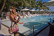 ARTIST; EMILIA GARTH. Collectors Brunch, Sagamore Hotel Miami Beach. Art Basel Miami Beach. 6 December 2008 *** Local Caption *** -DO NOT ARCHIVE -Copyright Photograph by Dafydd Jones. 248 Clapham Rd. London SW9 0PZ. Tel 0207 820 0771. www.dafjones.com