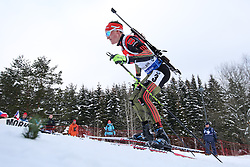 10.03.2016, Holmenkollen, Oslo, NOR, IBU Weltmeisterschaft Biathlion, Oslo, 20km, Herren, im Bild Benedikt Doll (GER) // during Mens 20km individual Race of the IBU World Championships, Oslo 2016 at the Holmenkollen in Oslo, Norway on 2016/03/10. EXPA Pictures © 2016, PhotoCredit: EXPA/ Newspix/ Tomasz Jastrzebowski<br /> <br /> *****ATTENTION - for AUT, SLO, CRO, SRB, BIH, MAZ, TUR, SUI, SWE only*****
