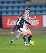 Dundee&rsquo;s Tom Hateley and Ross County&rsquo;s Tony Dingwall - Dundee v Ross County in the Ladbrokes Scottish Premiership at Dens Park, Dundee. Photo: David Young<br /> <br />  - &copy; David Young - www.davidyoungphoto.co.uk - email: davidyoungphoto@gmail.com