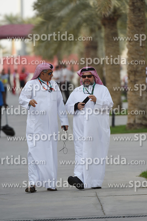 18.04.2015, International Circuit, Sakhir, BHR, FIA, Formel 1, Grand Prix von Bahrain, Qualifying, im Bild Zayed Alzayani (BHN) Bahrain Grand Prix Chairman // during Qualifying of the FIA Formula One Bahrain Grand Prix at the International Circuit in Sakhir, Bahrain on 2015/04/18. EXPA Pictures &copy; 2015, PhotoCredit: EXPA/ Sutton Images/ Mark<br /> <br /> *****ATTENTION - for AUT, SLO, CRO, SRB, BIH, MAZ only*****