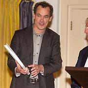 NLD/Heemstede/20151116 - Boekpresentatie De Zin van het Leven, psycholoog Bram Bakker en Karel Hille