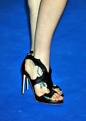 "© licensed to London News Pictures. London, UK  12/05/11 Astrid Berges-Frisbey (shoe tattoo detail) attends the UK premiere of Pirates of the Carribean 4 ""on Stranger Tides"" at Londons Westfield . Please see special instructions for usage rates. Photo credit should read AlanRoxborough/LNP"