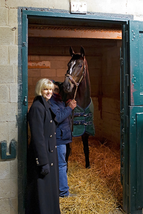 Zenyatta at Keeneland..