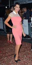 Lizzie Cundy attends an exclusive charity preview screening of Downton Abbey on behalf of The Cinema and Television  Benevolent Fund  at The Empire, Leicester Square on Wednesday 17th September 2014