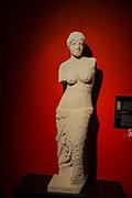 Venus Statue from Lego building blocks at the Holon Children's museum. Holon, Israel