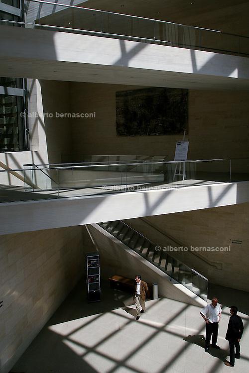 "Berlino: the new extension of the Deutsche Historisches Museum ""IM Pei Bau"" designed by IM Pei"