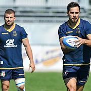 Calvisano 24/05/2018 <br /> Allenamento nazionale italiana di rugby<br /> Mattia Bellini