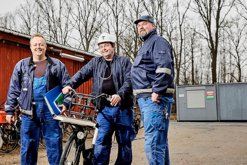 Tillidsmænd hos industrivirksomheden Haldor Topsøe i Frederikssund. <br /> Til en snak om den nye overenskomst forhandlet på plads af COindustri og DI.
