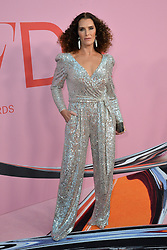June 4, 2019 - New York, NY, USA - June 3, 2019  New York City..Brooke Shields attending CFDA Fashion Awards arrivals at the Brooklyn Museum on June 3, 2019 in New York City. (Credit Image: © Kristin Callahan/Ace Pictures via ZUMA Press)