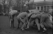 Irish Rugby Football Union, French team practice in College Park, Friday 24th January 1969, 24.1.1969, 1.24.1969,..French Team, ..P Villepreux, Wearing number 15 French jersey, Full Back, StadeToulousain Rugby Football Club, France,..J P Lux, Wearing number 11 French jersey, Left Wing, U.S Tyrossaise Rugby Football Club, France, ..J Trillo, Wearing number 12 French jersey, Left Centre, C A Beglais Rugby Football Club, France, ..J Maso, Wearing number 13 French jersey, Right Centre, R C Narbonnais Rugby Football Club, France, ..J M Bonal, Wearing number 14 French jersey, Right Wing, Stade Toulousain Rugby Football Club, France,..J Gachassin, Wearing number 10 French jersey, Stand Off, F.C Lourdais Rugby Football Club, France, ..J L Berot, Wearing number 9 French jersey, Scrum Half, Stade Toulousain Rugby Football Club, France,..W Spanghero, Wearing number 8 French jersey, Forward, R.C Narbonnais Rugby Football Club, France,..C Carrere, Wearing number 7 French jersey, Captain of the French team, Forward, R C Toulousain Rugby Football Club, France,..J P Salut, Wearing number 6 French jersey, Forward, Stade Toulousain Rugby Football Club, France,..B Dauga, Wearing number 5 French jersey, Forward, Stade Montois Rugby Football Club, France,..E Cester, Wearing number 4 French jersey, Forward, T O E C Rugby Football Club, France,..J Iracabal, Wearing number 3 French jersey, Forward, A Bayonnais Rugby Football Club, France,..M Yachvili, Wearing number 2 French jersey, Forward, S C Tulliste Rugby Football Club, France,..M Lasserre, Wearing number 1 French jersey, Forward, S U Agenais Rugby Football Club, France,........