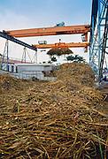 Sugar processing factory, Mauritius