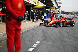 February 19, 2019 - Barcelona, Spain - Monegasque driver Charles Leclerc of Italian team Scuderia Ferrari Mission Winnow driving his single-seater SF90 during Barcelona winter test in Catalunya Circuit in Montmel?, Spain, on February 19, 2019. (Credit Image: © Andrea Diodato/NurPhoto via ZUMA Press)
