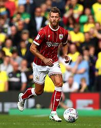 Nathan Baker of Bristol City - Mandatory by-line: Robbie Stephenson/JMP - 23/09/2017 - FOOTBALL - Carrow Road - Norwich, England - Norwich City v Bristol City - Sky Bet Championship