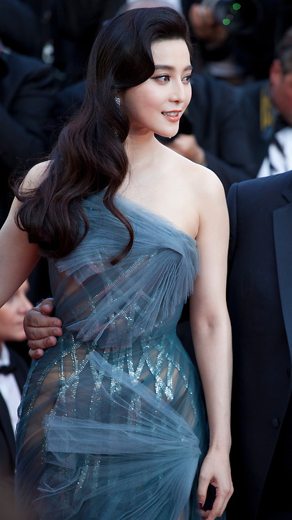 jury member Fan Bingbing arriving to the Closing Ceremony and awards at the 70th Cannes Film Festival Sunday 28th May 2017, Cannes, France. Photo credit: Doreen Kennedy