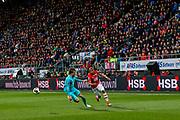 ALKMAAR - 22-04-2017, AZ - FC Twente, AFAS Stadion, AZ speler Dabney dos Santos Souza
