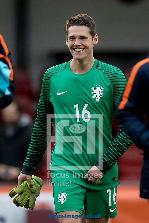Fabian De Keijzer of Netherlands U17 after the UEFA Euro U17 Championship match at Sportpark Zuid, Groesbeek<br /> Picture by Joep Joseph Leenen/Focus Images Ltd +316 5261929<br /> 19/03/2017<br /> ***NETHERLANDS OUT***