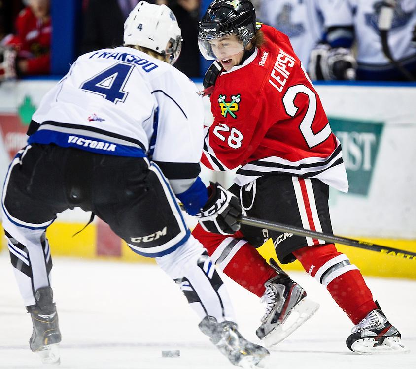 BRENDAN LEIPSIC Portland Winterhawks Hockey WHL