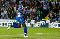 Photo: Richard Lane/Sportsbeat Images.<br />Reading v Chelsea. The FA Barclays Premiership. 15/08/2007. <br />Reading's Andre Bikey sets the ball up for his goal.