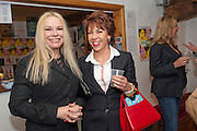 PAMELA STEPHENSON; KATHY LETTE , Gala performance of  RUBY WAX- LOSING IT  in aid of  Comic Relief. Menier Theatre. London. 23 February 2011. -DO NOT ARCHIVE-© Copyright Photograph by Dafydd Jones. 248 Clapham Rd. London SW9 0PZ. Tel 0207 820 0771. www.dafjones.com.