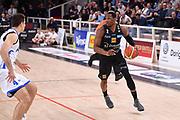 Dominique Sutton<br /> Dolomiti Energia Aquila Basket Trento - Happy Casa New Basket Brindisi<br /> LegaBasket Serie A 2017/2018<br /> Trento, 08/04/2018<br /> Foto M.Ceretti / Ciamillo - Castoria