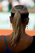 Paris, France. May 31st 2009. .Roland Garros - Tennis French Open. 3rd Round..Maria Sharapova against Na Li