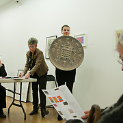 Art auction held at Gimpel Fils in support of Ken Livingstone's bid for London Mayor in May 2012.
